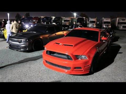 6 Minutes Of ILLEGAL Street Racing!