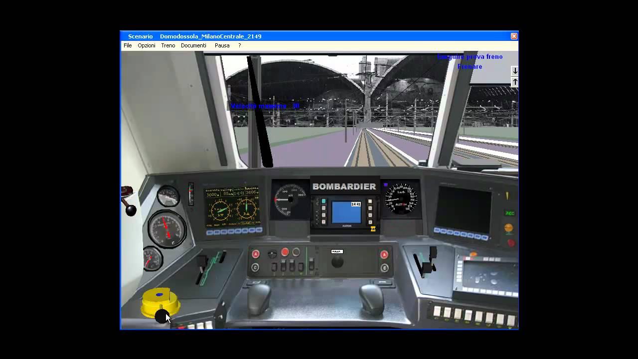Simulatore treno e464 461 arrivo a milano centrale for Simulatore di arredamento