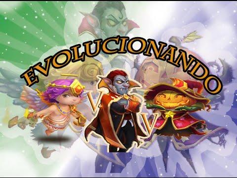 Castillo Furioso Evolucionando mis primeros 3 héroes en 30 minutos