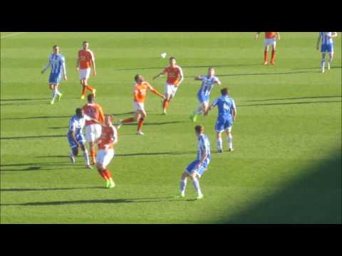 Matchday Colchester United v Luton Town 25th March 2017