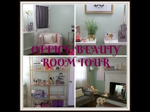 Office and Beauty Room Tour