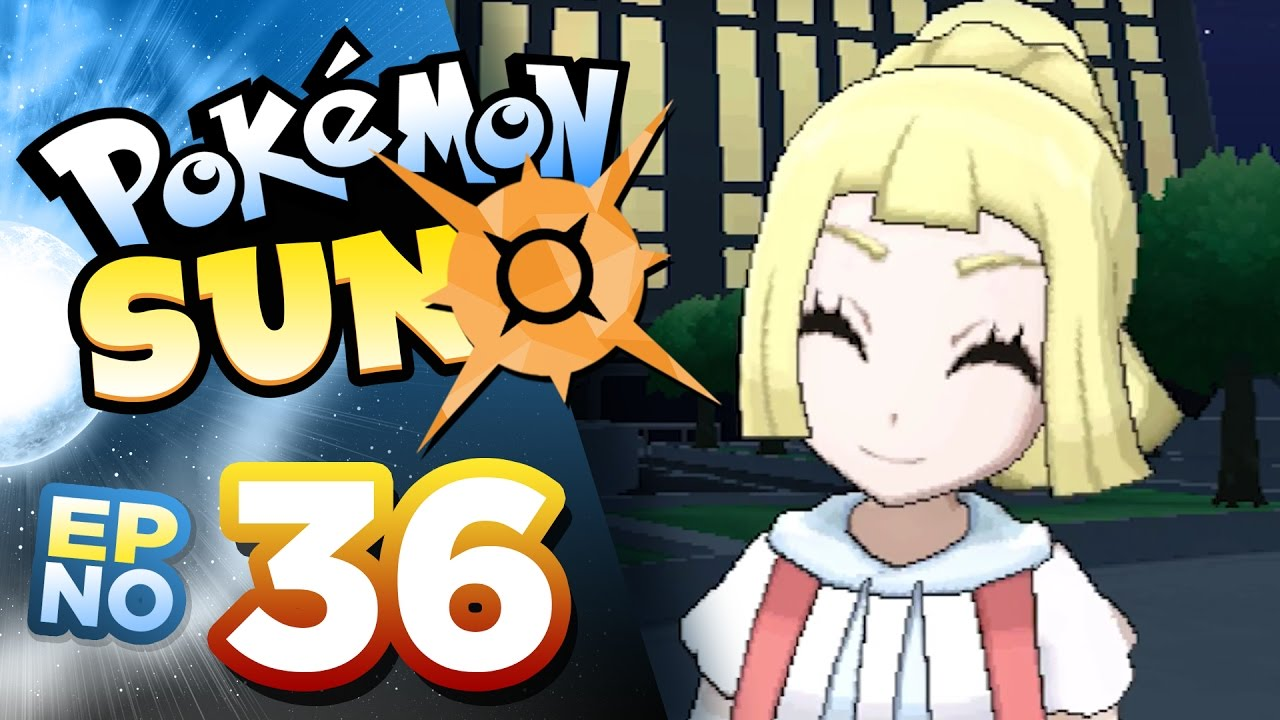LILLIE'S Z-POWERED FORM • Pokémon Sun Playthrough w/ Cloudded ...