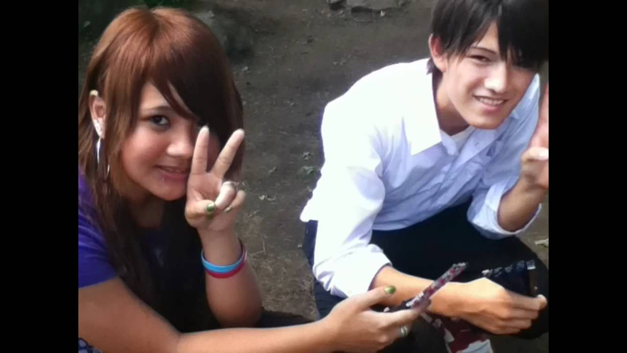 Girl Japan And Handsome Boy