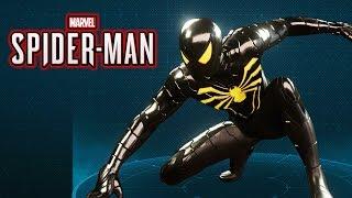 Spider-Man Ps4 - Anti Ock Spider Suit Gameplay Showcase