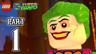 LEGO DC Super Villains Walkthrough PART 1 (PS4 Pro) No Commentary @ 1080p HD ✔