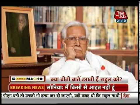 Natwar Singh reveals truth behind Sonia not accepting PM's post