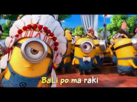 Minions Song ~ YMCA with Lyrics & full video clips