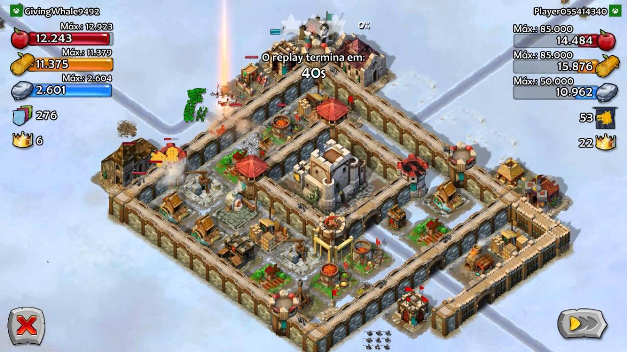 Defesa para vila n 237 vel 5 para age of empires castle siege youtube