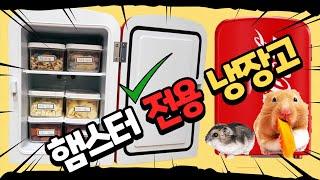 [햄장고] 햄스터 간식 보관 /미니 냉장고 /햄찌 간식…