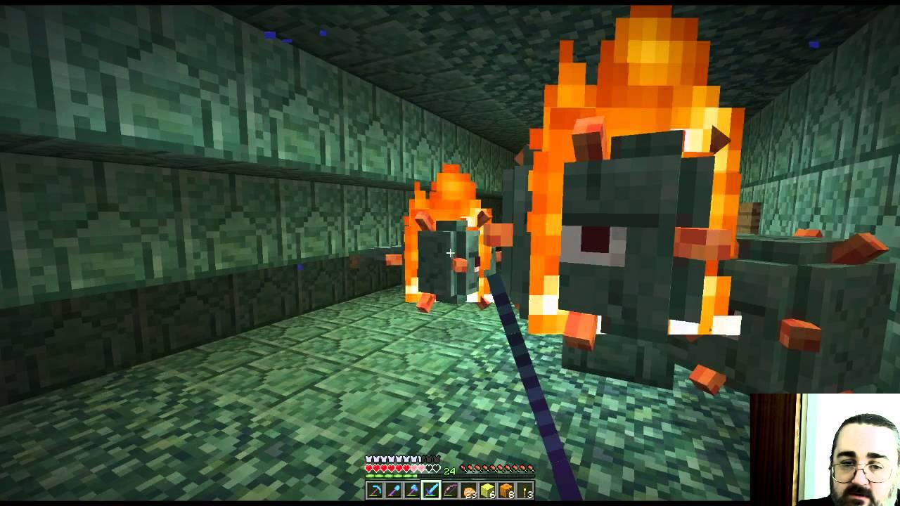 Minecraft: Draining The Main Treasure Chamber - YouTube