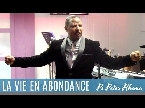 Pasteur Peter Rhema - La vie en abondance !