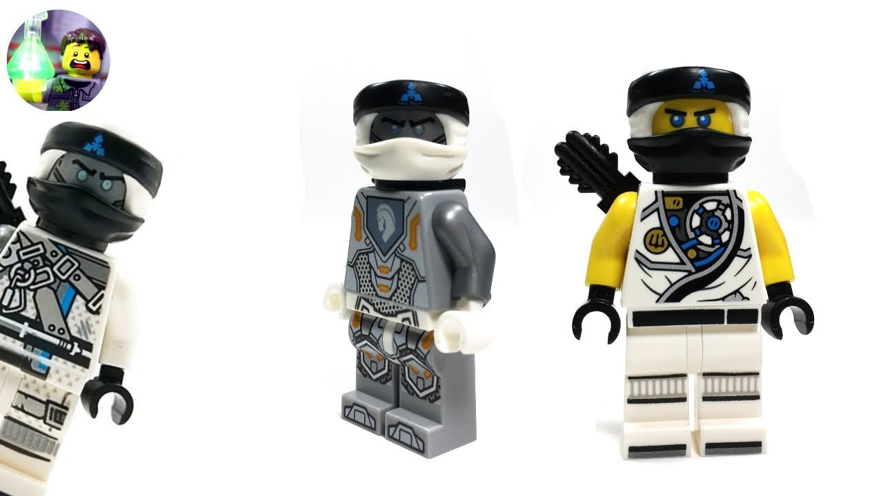 Lego Custom Zane Minifigure From Hunted Youtube