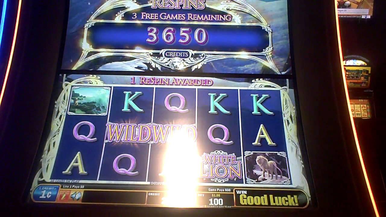 Lions slots machine