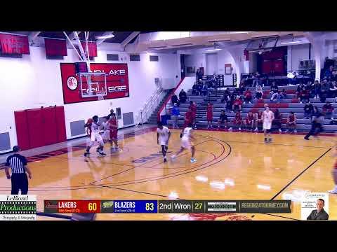 Region 24 Tournament VU vs Lake Land College