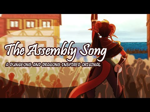 The Assembly Song- An Original Dungeons And Dragons Inspired Song Feat. Gabe Castro