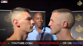 CONTENDER-VIP LIVE DRAW, HEAD TO HEADS, WEIGH-INS, PRESSER FOR FIGHT SERIES ONE SATURDAY BBTV LIVE