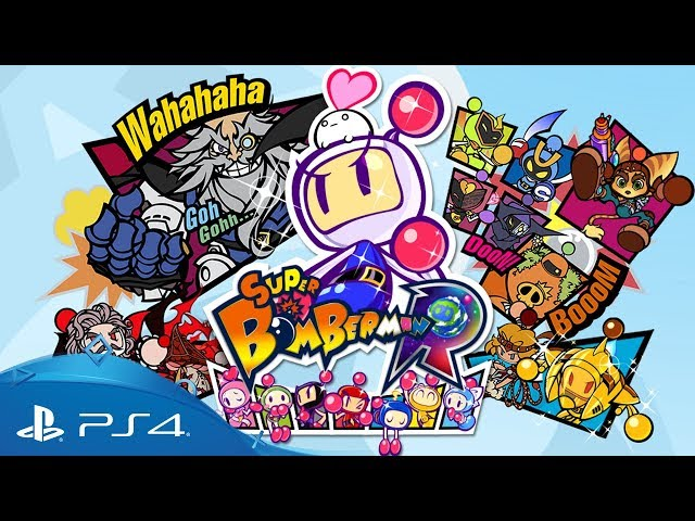 Super Bomberman R | Announcement Trailer | PS4