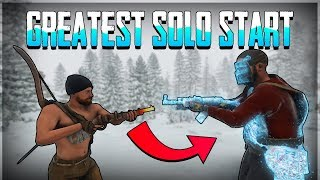 THE GREATEST SOLO START! (Rust SOLO)