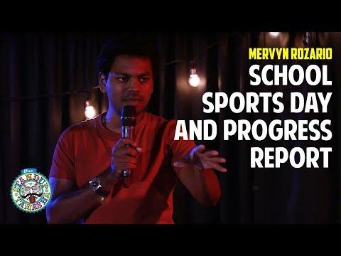 School, Sports Day and Progress Report | Standup comedy by Mervyn Rozz