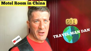 What A Motel Room Looks Like In CHINA-Travel Man Dan