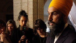 Jagmeet Singh talks about NDP MP's suspension