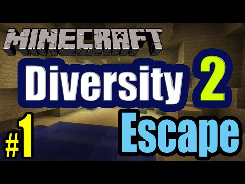 Tackle⁴⁸²⁶ Minecraft Custom Map - Diversity 2 (Escape - หาทางออก) #1