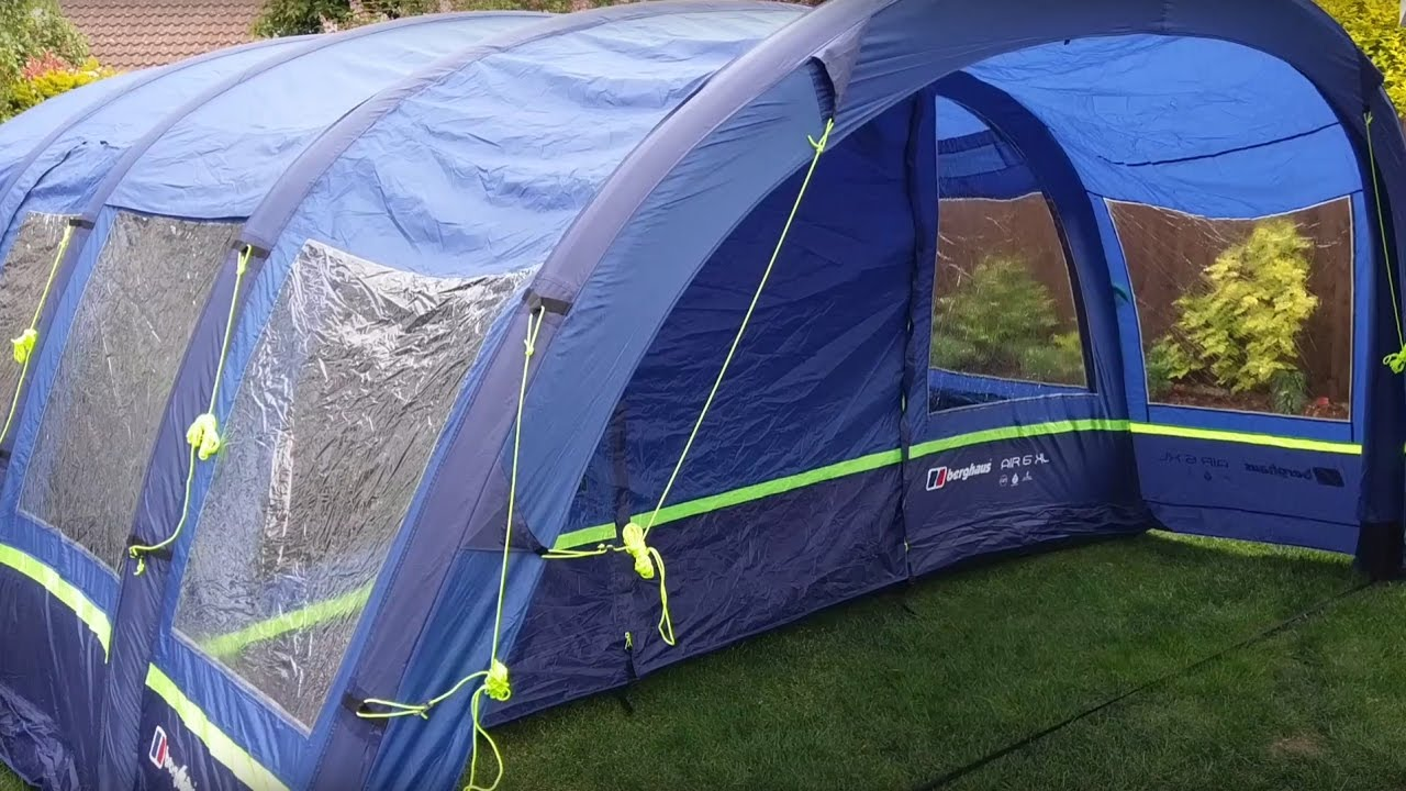 812d16b49f2 Berghaus Air 6 XL 2017 tent review - YouTube