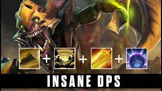 INSANE DPS! - Amazing Damage/sec Sand King by SingSing 7.06 - Dota 2