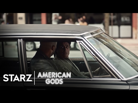 American Gods   Season 1, Episode 3 Clip: Bank   STARZ