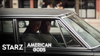 American Gods | Season 1, Episode 3 Clip: Bank | STARZ