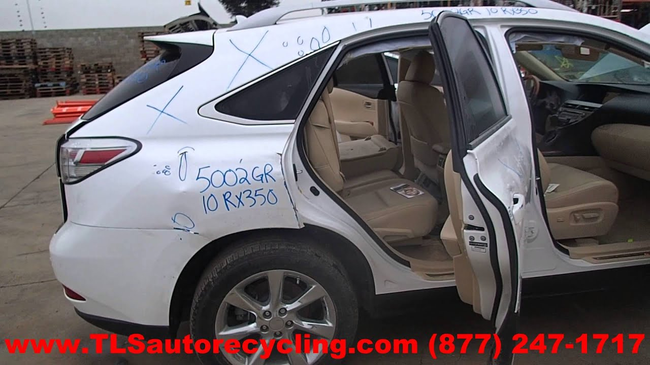 2010 Lexus RX350 Parts For Sale Save up to 60%