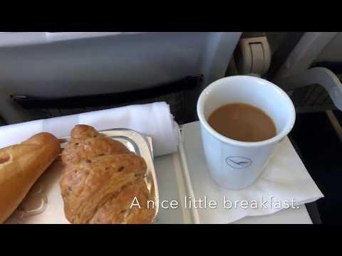Lufthansa Business Class A320 Munich to Helsinki | HD