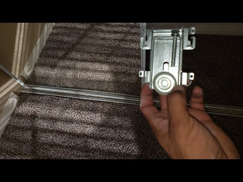 Mirror Door Roller Replacement. Simple!