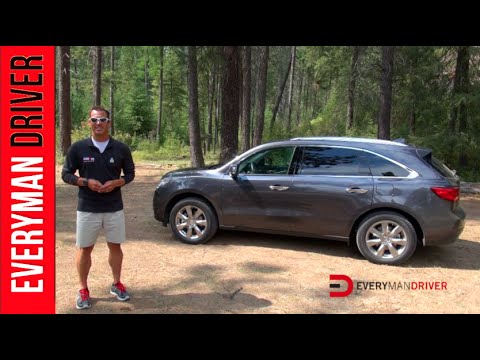 2014 acura mdx awd review on everyman driver youtube