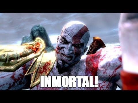 God of War III-TRUCO Vida INFINITA y TODAS las armas en inicio juego-Trofeo Inhumano y PLATINO FÁCIL