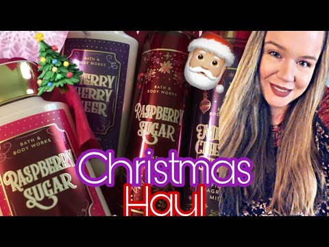 Bath And Body Works Christmas Haul 2019 | Raspberry Sugar, Merry Cherry Cheer And More !