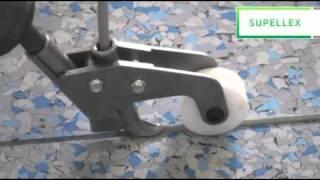 Svařovací tryska na PVC podlahy a  seřezávací nože