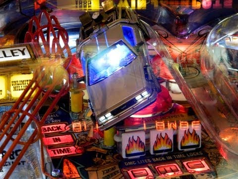 BACK TO THE FUTURE Pinball Machine ~ GRC Archive Gameplay ~ MAT Scores 8,217,430