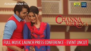 Channa mereya full punjabi movie music launch | ninja, amrit maan, pankaj batra | white hill music