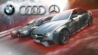 Тюнинг бойня M5 F90 Vs AMG E63s Vs Audi RS6