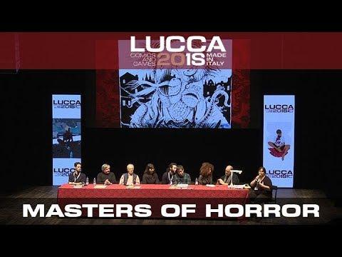 [Lucca Comics & Games] Masters of Horror