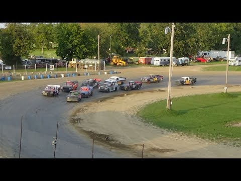 Pro Truck Feature Race at Crystal Motor Speedway, Michigan, on 09-16-2018!
