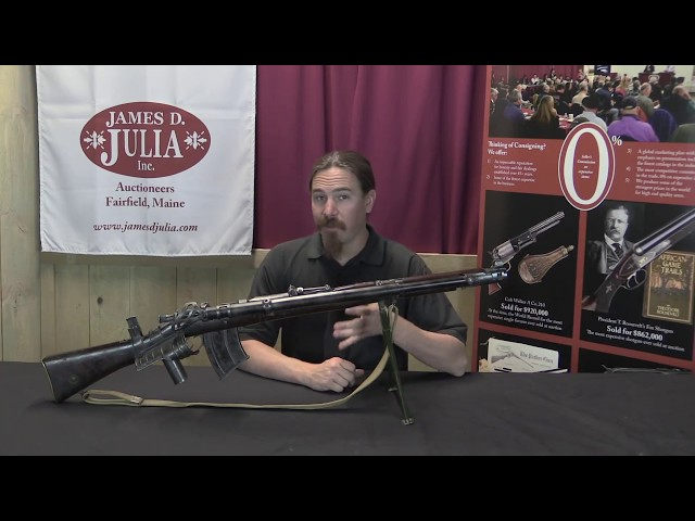 M1915 Howell Automatic Rifle Enfield Conversion