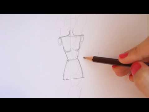 TUTORIAL - Fashion Figure Step by Step