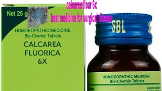 Homeopathy medicine calcarea flourica 6x