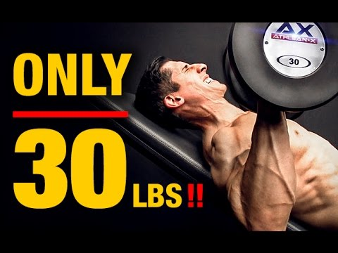 Intense Dumbbell Workout (CRUSHED BY 30 LBS!)