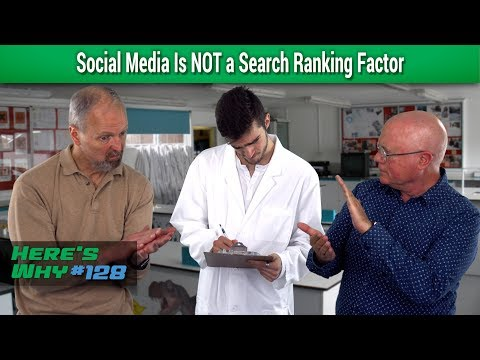 Social Media Is NOT a Search Ranking Factor: Here's Why