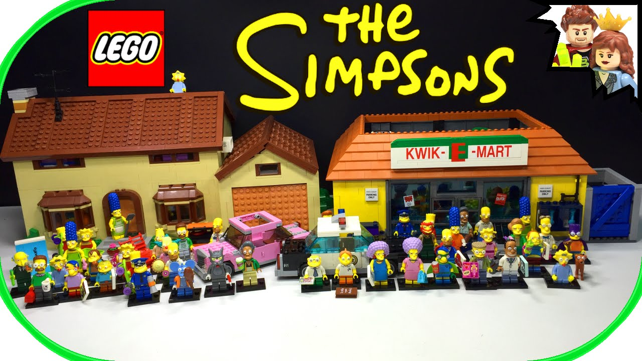 LEGO Simpsons Complete Set & Series Collection - YouTube