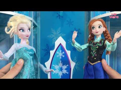 Frozen Elsa Anna Dolls Movie in English!  Disney Princess Dolls Videos! Disney Frozen Playlist
