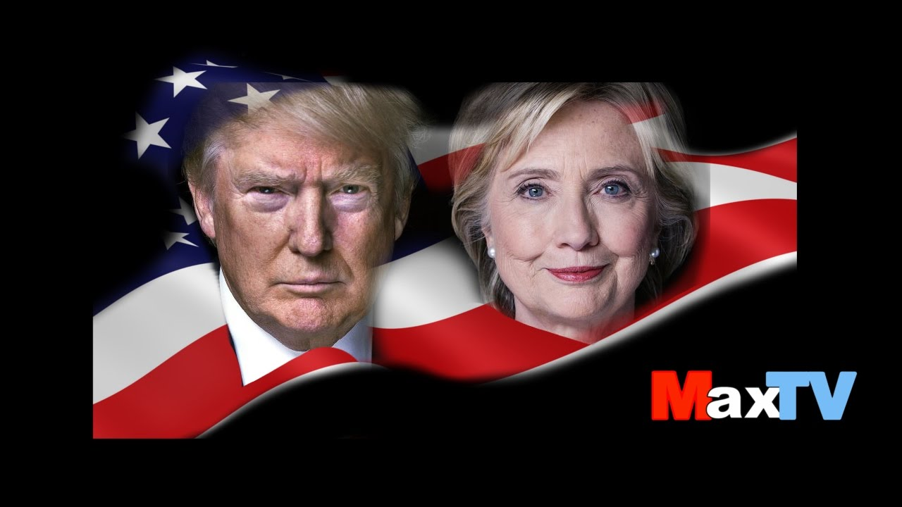 Max Kolonko - Election'16 Clinton Trump Debata w MaxTV